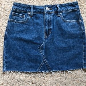 New! Denim skirt